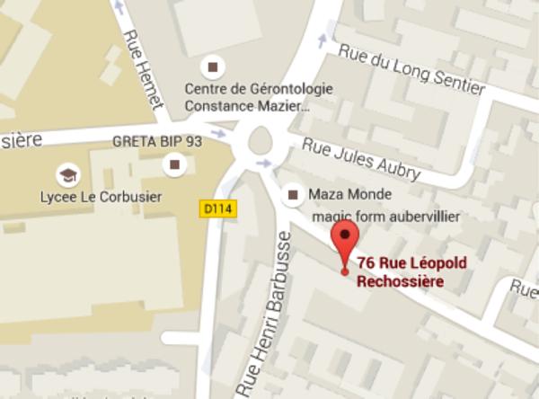 Appartement 76 rue l opold r chossi re bobigny en vente - Chambre de commerce bobigny adresse ...